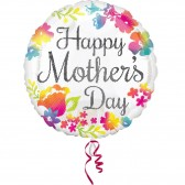 CHEERFUL MOTHERS DAY BALLOON