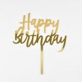 Happy Birthday cake accessories