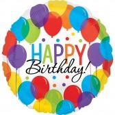 Happy Birthday balloon bash