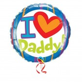 I Luv Daddy Balloon